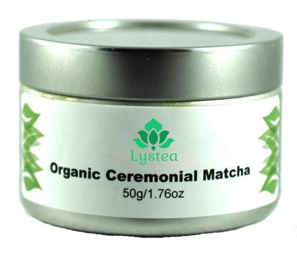 Pot de 50g de poudre de Matcha