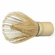 fouet en bambou biodégradable pour la préparation de matcha