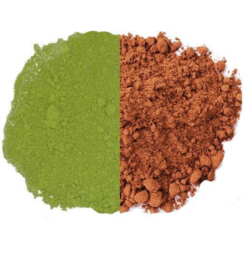 matcha au cacao biologique
