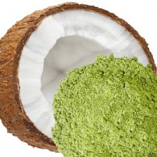 matcha à la noix de coco