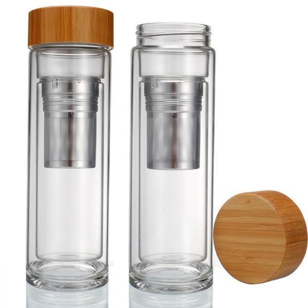 Tasse infuseur à thé bambou