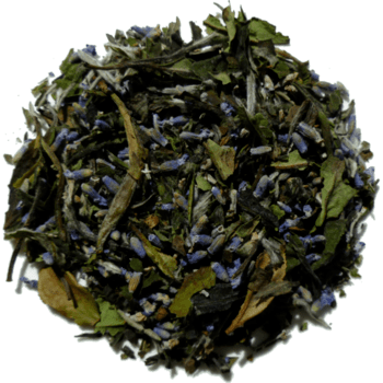 Thé blanc biologique lavande Lystea.ca