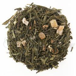 thé vert biologique fraise lystea.ca