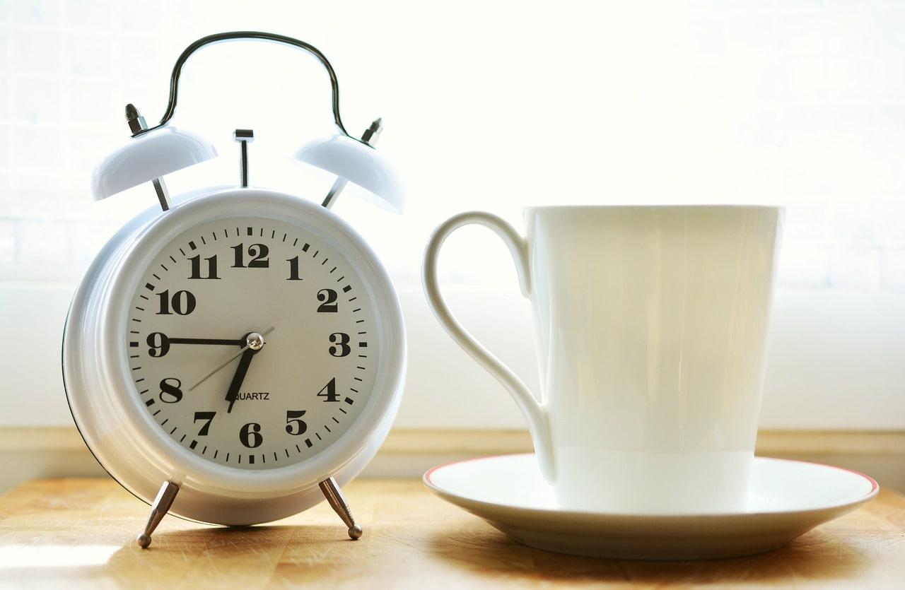 Le thé au réveil, un pur bonheur
